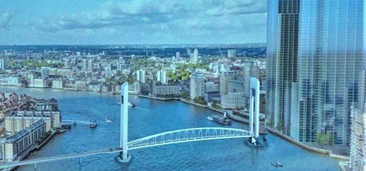 Rotherhithe: TfL se prepara para realizar consultas sobre el puente levadizo vertical más alto del mundo
