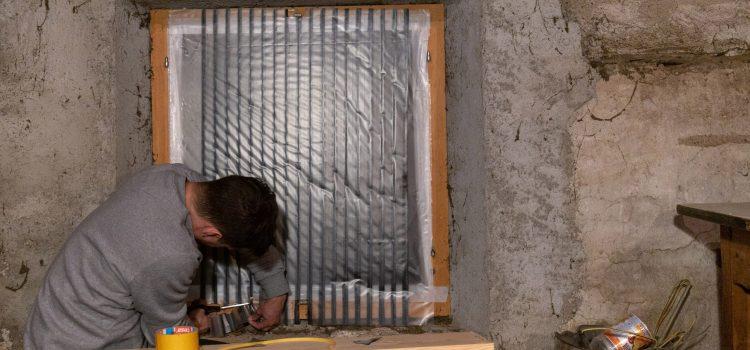 Instant Windows ofrece una solución rápida para casas en zonas de guerra