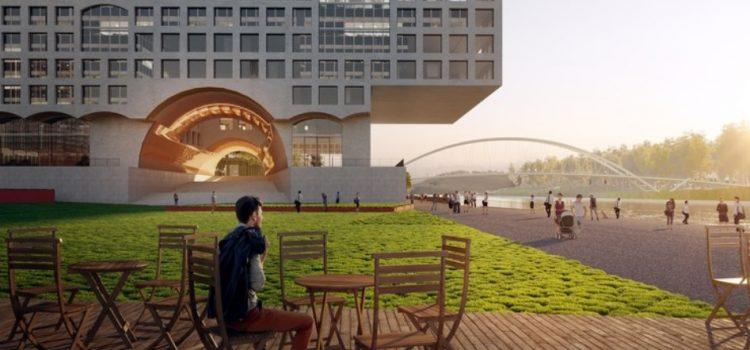 Paradigma Ariadné diseña el plan maestro para el concurso Budapest South Gate