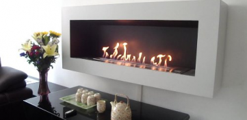 Elementos decorativos únicos: chimeneas de bioetanol
