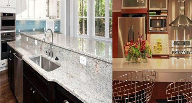 Cuarzo o granito para cocina escoge entre sus diferencias
