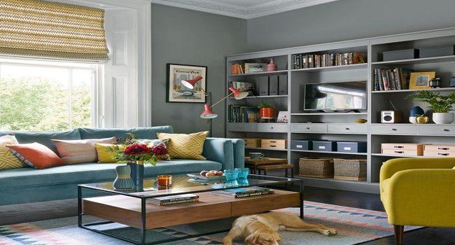Espacios elegantes con gris, la mejor decoración para tu sala