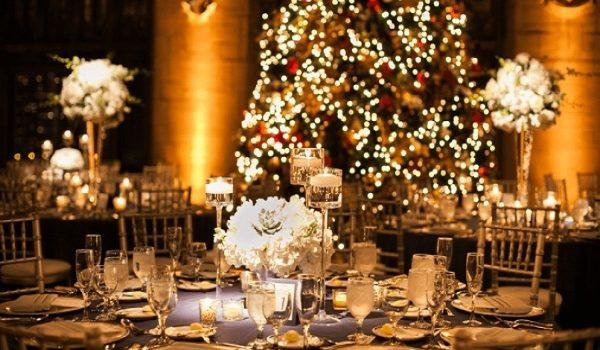 Como decorar las bodas en Navidad