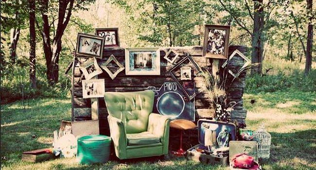 Bodas Vintage ideas para una   decoración de bajo costo