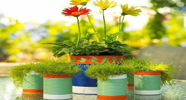 Aprende hacer macetas recicladas con estas ideas