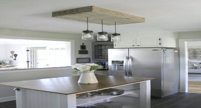 Palets para la cocina, diseña una caja de luz de madera