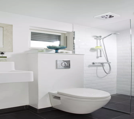 Cómo instalar un ventilador de escape en el baño