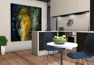 Ideas fáciles para decorar la pared de la cocina