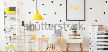 Cómo decorar una pared con vinilo