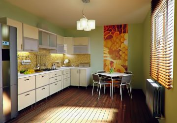 Ideas para la cocina verde – redecorar con un color que es a la vez sofisticado y fresco