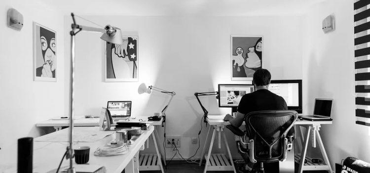 Ideas de iluminación para la oficina en casa