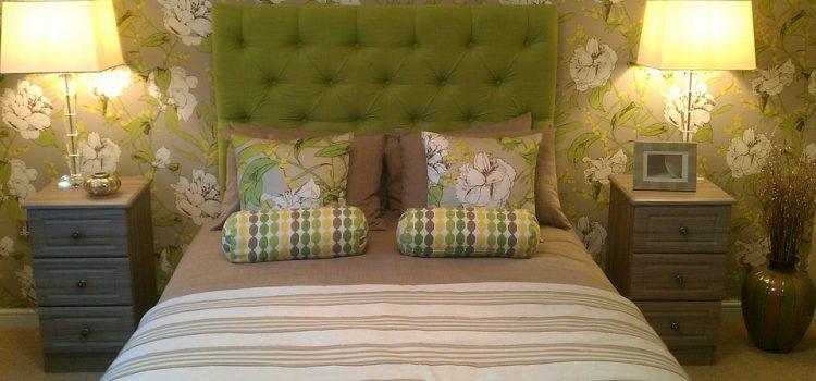 Ideas para la decoración del dormitorio verde, explorar los tonos clave que pueden crear un retiro de lujo