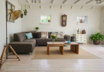 Diseñe una habitación alrededor de un sofá esquinero o modular
