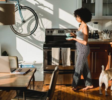 Muebles y servicios útiles para el hogar o negocio