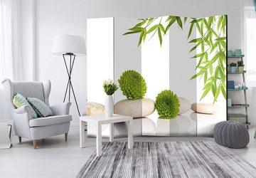 Ventajas de usar un biombo para decorar y separar ambientes