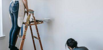 Rodillos de pintura con patrón de rodillo